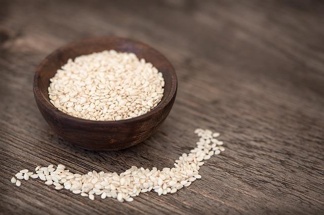 Les graines de sésames